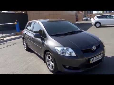 Toyota Auris 1.6 Dual VVT-i.  Manual Transmition. Review. Sell