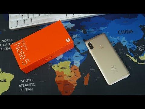 Распаковка Xiaomi Redmi Note 5 Global c Aliexpress за 180$