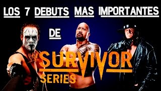 Los 7 Debuts Mas Importantes de Survivor Series