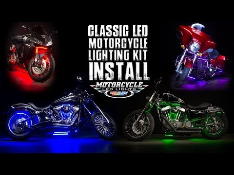 LEDGlow's Classic Motorcycle Lighting Kit Install