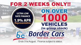 Ultra Low Finance at Border cars