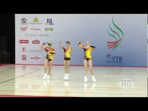 Trio Russia 2 - Aerobic World Age Group 2012