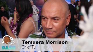 "Disney's MOANA Premiere - Voice Of ""Chief Tui"", TEMUERA MORRISON"