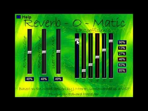 0 Reverb O Matic by Edward Hazelden