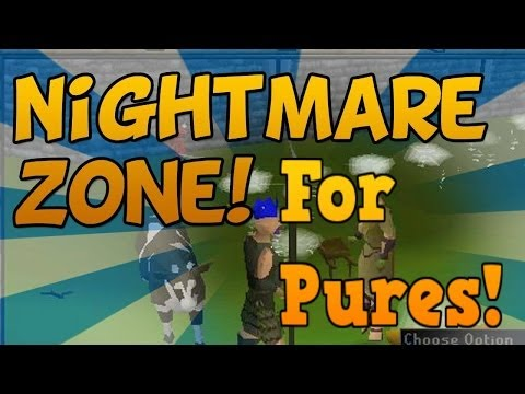 Oldschool RuneScape – Nightmare Zone (ranged) pure guide 50k+/hr