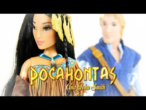 Doll Review: Disney Fairytale Collection Pocahontas and John Smith