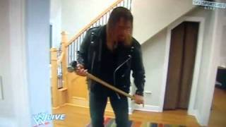 Triple H vs Randy Orton in Ortons House