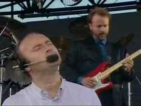 Phil Collins - In The Air Tonight (live) video