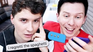What Dan and Phil Text Each Other