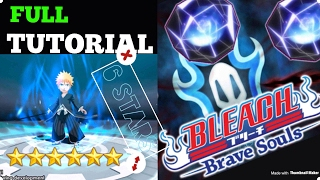 6 STARS! How to Use Hogyoku Get 6 STAR TUTORIAL | Bleach Brave Souls Hogyoku 6 STARS GUIDE iOS 2018