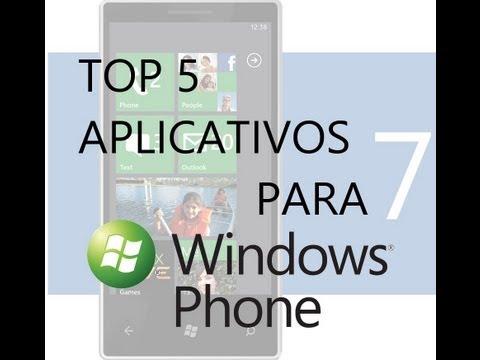 Melhores aplicativos para Windows Phone - Primeira semana 11/2012 [Top 5]