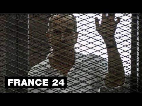EGYPT - Greste freed from jail, but Al-Jazeera journalist's colleagues still held