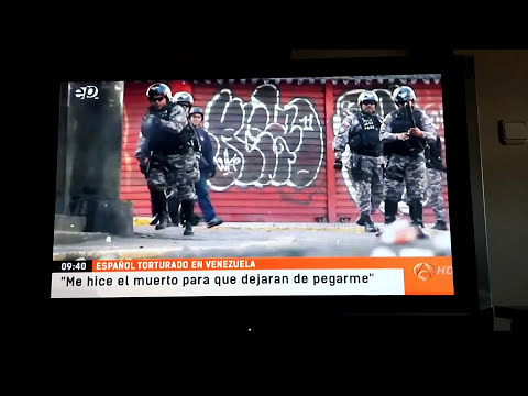 Antena 3 hablan de las torturas en Venezuela