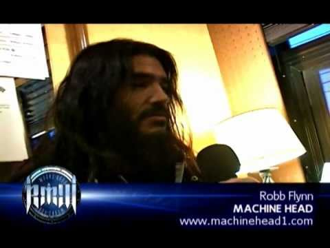 ROBB FLYNN (Machine Head) on Robbs MetalWorks 2012