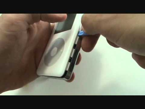 iPod 4th Generation Hard Drive Replacement Sad Face 20gb 40gb Tutorial   GadgetMenders.com