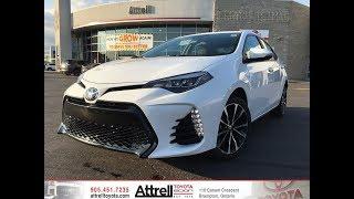 2018 Toyota Corolla SE Upgrade Package - Attrell Toyota - Brampton ON