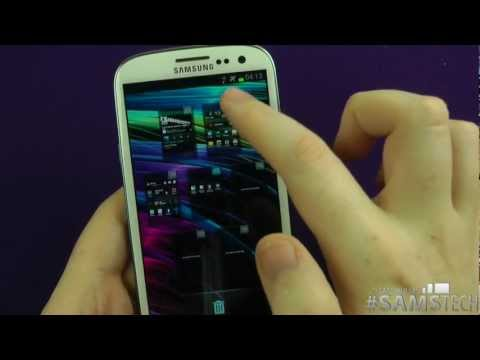 Samsung Galaxy S3  - Tips & Tricks - Home Screen Tips