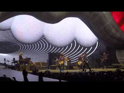 The Rolling Stones opener &quot;Get Off Of My Cloud&quot; May 3, 2013 Los Angeles Staples Center