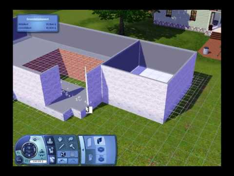 sims 2 playstation 2 haus bauen. Black Bedroom Furniture Sets. Home Design Ideas