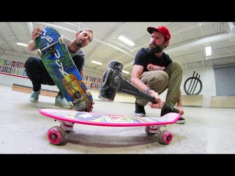 Cheap Skateboard Strength Test! / Warehouse Wednesday