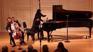 1/3 Brahms Cello Sonata no. 1 E minor: Andrei Ionita (cello), Yekwon Sunwoo (piano)