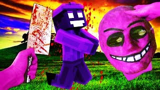 Realistic Minecraft - FNAF PINK GUY IN REAL LIFE!