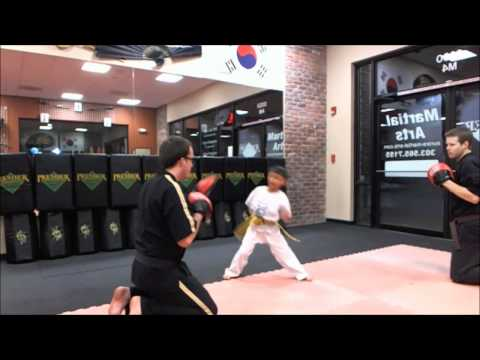 Kickboxing Combo 2012: Kylan Bennabhaktula, Age 6, Aurora