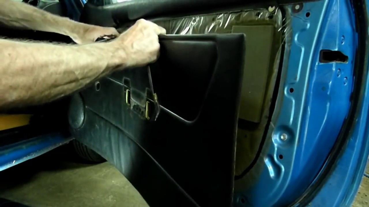 Toyota Door Panel Removal Amp Freeing Lock Linkage Youtube