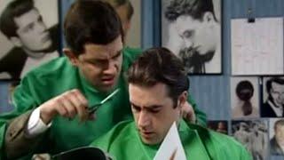 Cutting Men's Hair | Mr. Bean Official Cartoon