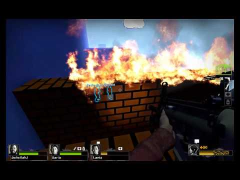 Left 4 Dead 2 Custom Map Reviews: Left 4 Mario Part 1