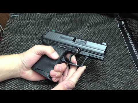 Heckler & Koch P2000sk .40 pistol- H&K P2000 compact - quick tabletop review