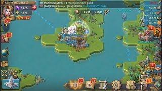 Lords Mobile - Live Stream of a 633m getting ZEROED! FnA Double Rallies! 15 MILLION TROOPS GONE!