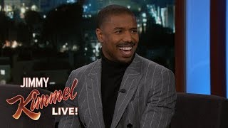 Michael B. Jordan on Jimmy Kimmel Being Cut from Creed 2