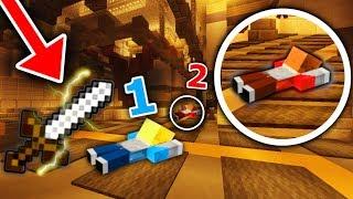 CRAZY DOUBLE KNIFE THROW! (Minecraft Murder Mystery)