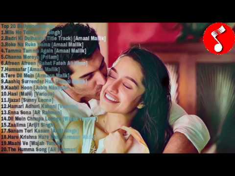 Top 20 Hindi songs (March 2017)