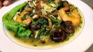 Bouillon de Tilapia aux legumes