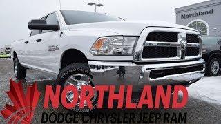 Walk Around 2017 RAM 3500 SLT Crew Cab | Northland Dodge | Auto Dealership in Prince George BC