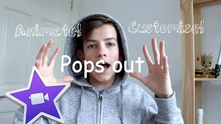 How to customise/animate your text any way you want! IMovie tips and tricks!