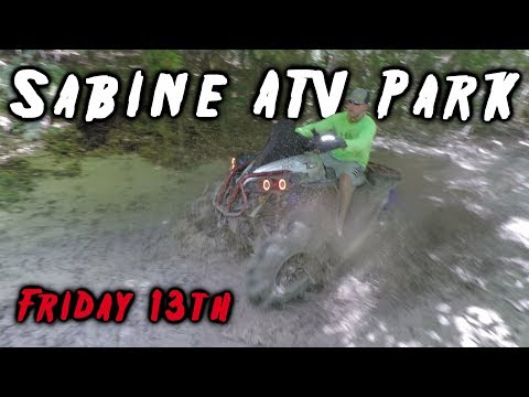 Sabine ATV Park Friday The 13th Ride | July 2018