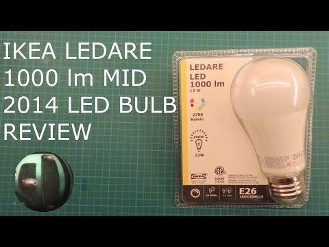 Ikea Ledare 2014 1000lm LED Bulb Teardown and Review