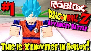 THIS IS XENOVERSE IN ROBLOX! | Roblox: Dragon Ball Advanced Battle - Episode 1