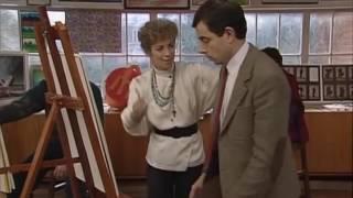 মি: বিন আর্ট ক্লাস।  mr bean art class