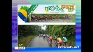 Eritrean Sport Report about the 10th Tour de Gabon - La Tropicale Amissa Bongo