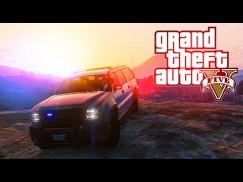 GTA V Online - Coche de policía Tuneable con capacidad de 8 personas!