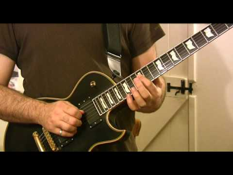 Advanced rock/metal licks 1 of 3