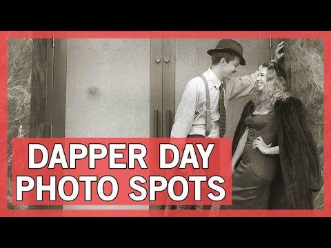 Dapper Day Photo Spots