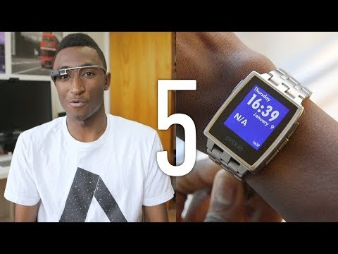 Top 5 Wearable Tech! (Early 2014)