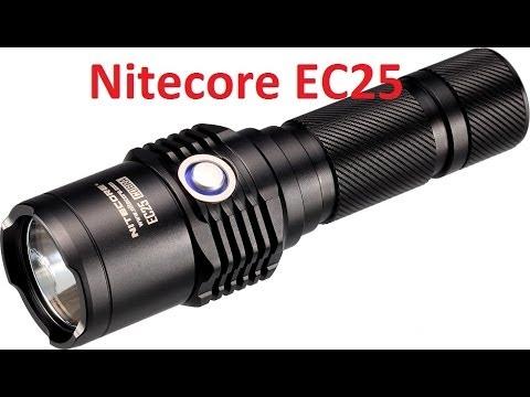 Распаковка Nitecore EC25 Cobra с сайта Aliexpress.com