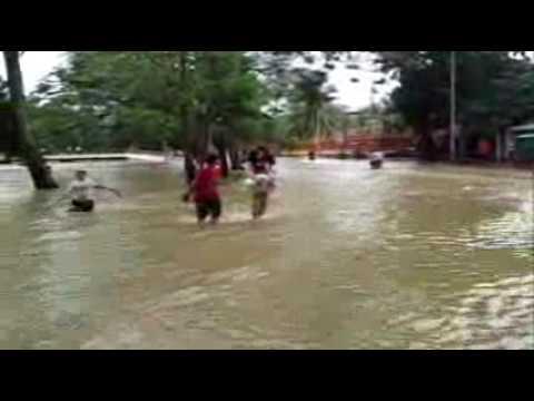 Flood in Siem Reap Oct 2011