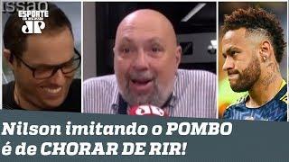 """HILÁRIO! Nilson Cesar imita pombo e DISPARA: """"Seleção será MELHOR sem Neymar!"""""""